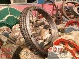 节距38.1的双排大链轮滚筒排渣机大小链轮