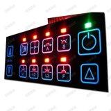 深圳薄膜开关 背光薄膜开关 LED薄膜按键 EL冷光源键盘