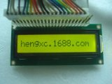 LCD1601液晶屏 LCM1601A液晶模块 外形:80*36黄绿屏背光 5V