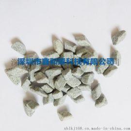 鑫和隆厂家直销 棕刚玉研磨石 斜三角10*10研磨石