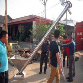 淮阳螺旋提升机  小麦灌包螺杆提升机-粮食饲料提升机图片