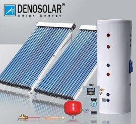 德诺(denosolar)别墅高层家用彩钢分体承压太阳能热水器