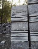 河北蘑菇石厂家, 黑色板岩,高档别墅外墙文化石