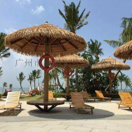 供应海南海口实木沙滩椅 KH-A001木质沙滩椅躺椅