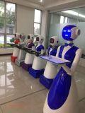 自主研發美女餐廳機器人 卡特智慧