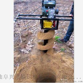 新型果树施肥机 大马力挖坑机型号y2