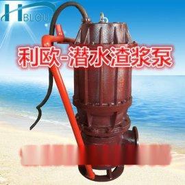 利欧ZJQ100-18-15潜水式渣浆泵吸沙泵矿渣泵排污泵液下泥浆泵脱**污水泵砂浆泵