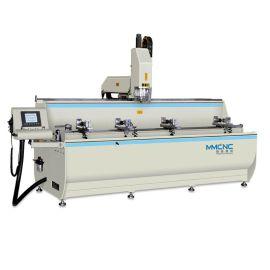 铝型材3+1轴数控钻铣床工业铝型材数控加工设备