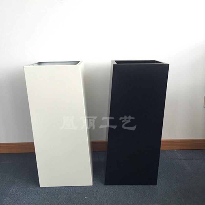 广州厂家专业定制落地式不锈钢花器 304# 201#不锈钢烤漆花盆
