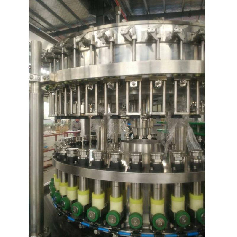 張家港市全自動碳酸飲料灌裝機/玻璃瓶汽水灌裝機/可樂灌裝機