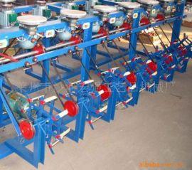 供应单股高速细纸绳机,本机适用纸布用绳,工藝品编织用绳