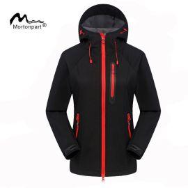 厂家直销户外软壳冲锋衣外贸保暖抓绒衣登山滑雪服