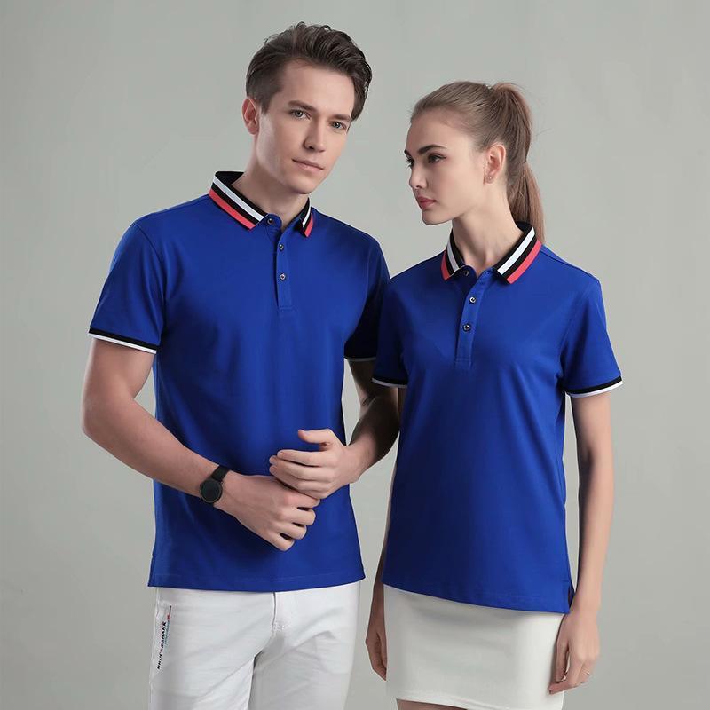 短袖工作服polo衫短袖工衣t恤定製廣告文化衫定做