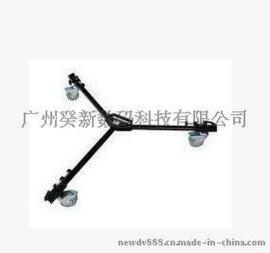 利拍DL-3标准型滑轮车 走轮 脚轮 原装行货 配合TH650脚架使用