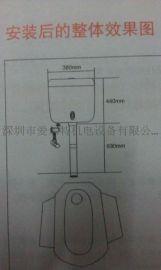 爱尔特手按带感应冲水箱、全自动感应卫厕冲水箱