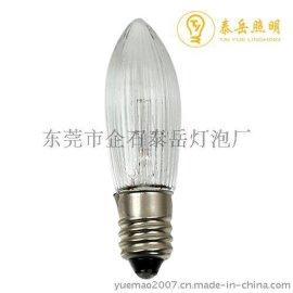 泰岳照明 C6E10 34V C6花纹灯泡