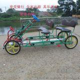 四人自行車和旅遊觀光車/四輪自行車/自然風旅遊觀光車