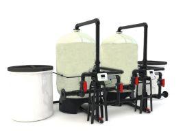 合肥天澄全自动软化水设备型号, 水处理胶,养殖水处理设备