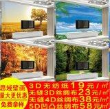 佳舍美居大型3D客厅电视背景墙壁画 影视墙卧室沙发无缝防水无纺布墙纸