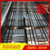 拉丝黑钛亮光不锈钢隔断,不锈钢隔断生产厂家