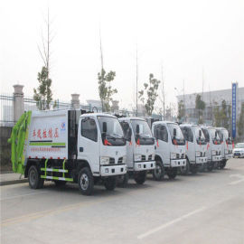 东风多利卡D6压缩垃圾车生产厂家