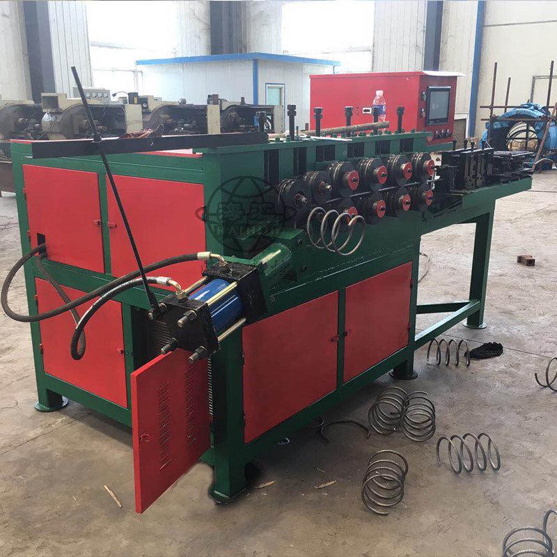 螺旋筋自动成型机,全自动数控钢筋螺旋机,卷簧机