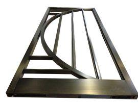 专业做拉丝不锈钢门仿青古铜表面处理