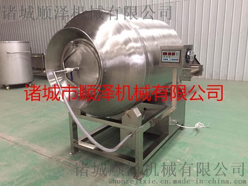 不锈钢牛肉真空滚揉机 酱料搅拌机 鸡鸭鱼肉腌制机
