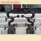 神龙摆件 铸铜龙定制铸铜龙制作 铜像加工 园林雕塑 大型铜雕龙