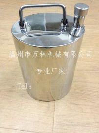 不锈钢小酒罐、药罐、果酒罐厂家批发
