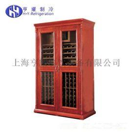 4歐式別墅型紅酒櫃,餐廳廚房不鏽鋼紅酒櫃,實木恆溫紅酒櫃,橡木棕恆溫紅酒櫃