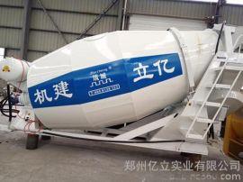 一起福田系列混凝土罐車,億立5m3混凝土罐車,攪拌罐銷售