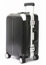 上海定制个性化黑色拉杆箱可加logo行李箱厂家出售拉杆箱 24寸