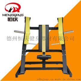 坐式上斜推胸训练器大型商用健身房器械运动健身器材