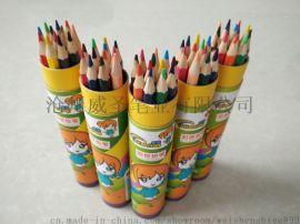 威圣笔业3600-12椴木材质 高A彩色铅笔12色