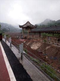 校园公园广场景区文化长廊 重庆景观建筑施工修建厂家