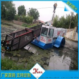 水草打捞清理设备 广东水葫芦清理割草机(现场查看)