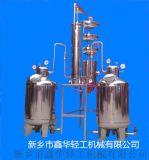 果酒蒸馏设备 白兰地蒸馏塔 皮渣果胶果泥蒸馏机组