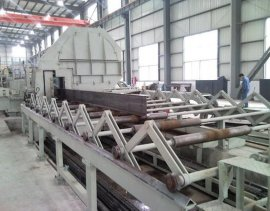 WT100高频焊接H型钢生产线机组