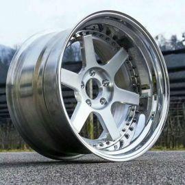 貴陽三片式鍛造鋁合金改裝轎車輪轂1139