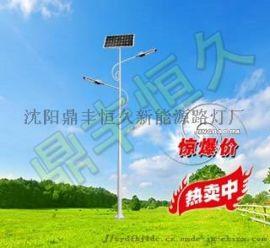 新款led路灯农村建设节能路灯一体化太阳能路灯