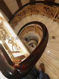 定制 高端楼梯护栏别墅铝艺楼梯旋转护栏扶手生产厂家