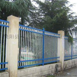 浙江别墅小区围墙栏杆护栏网铁艺围墙锌钢护栏网围栏