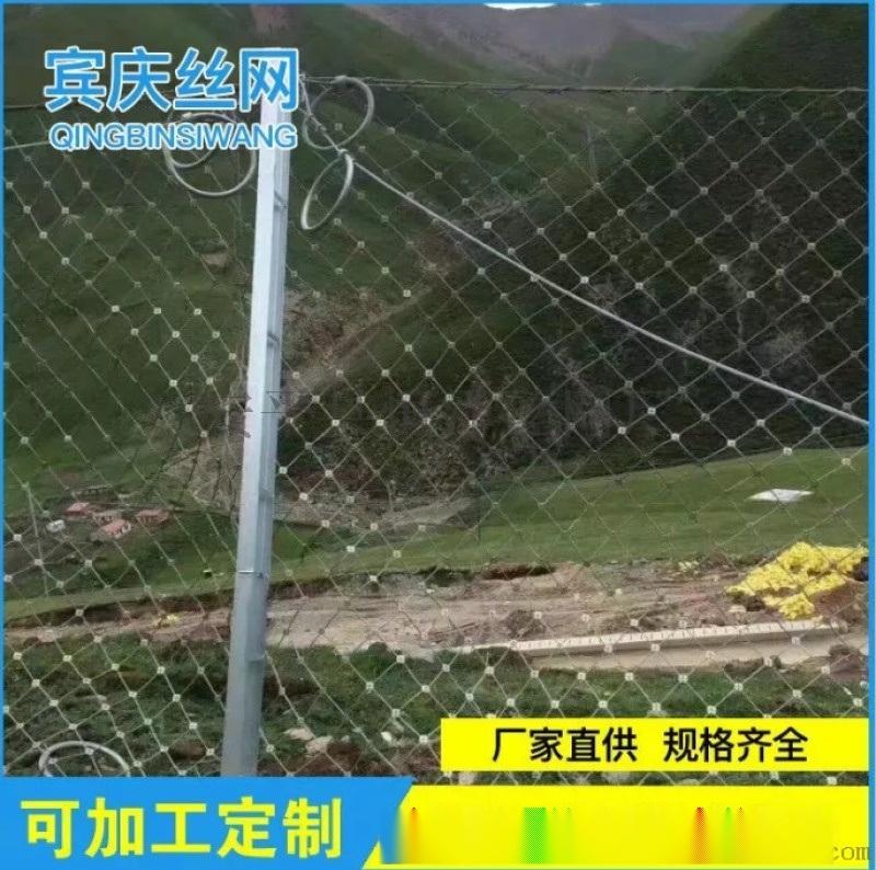 SNS柔性边坡防护网 柔性防护网型号
