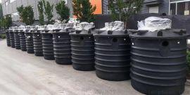 1吨-5吨每天一体式地埋式罐体_污水处理设备