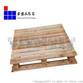 厂家  青岛欧标木制托盘样式齐全周转用托盘