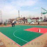 唐山市气垫悬浮地板篮球场塑胶地板拼装地板