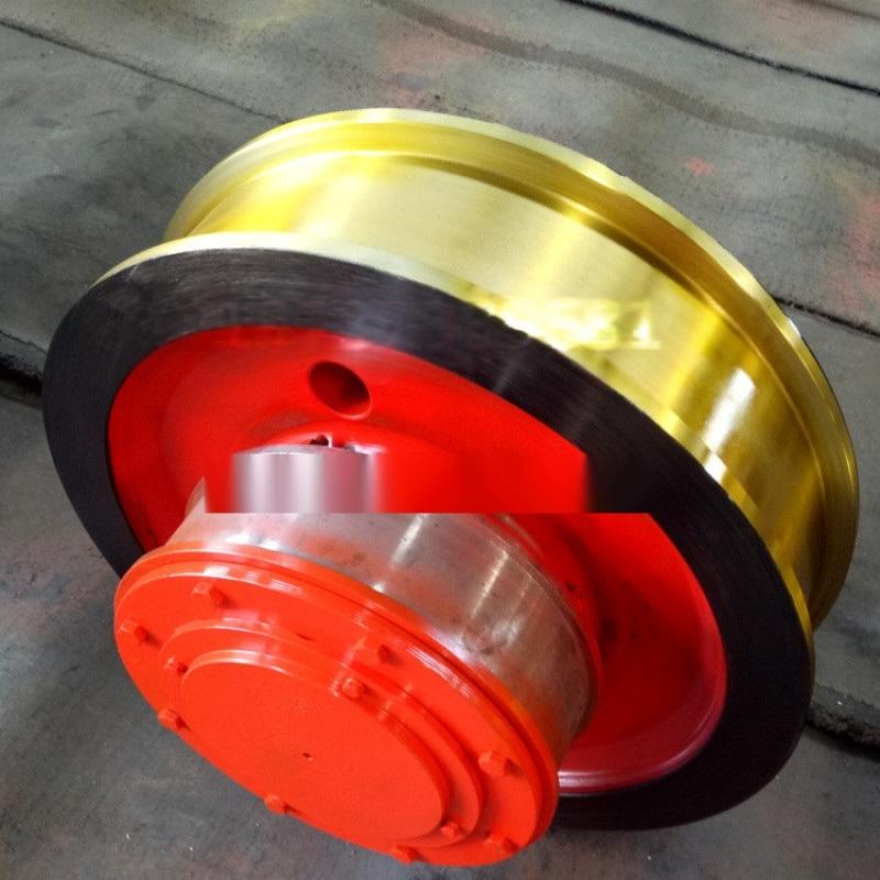 起重机天车锻钢车轮组 角箱铸钢车轮组