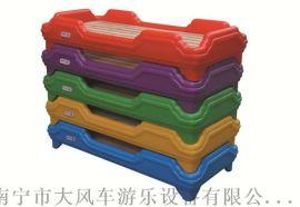 广西南宁幼儿园儿童床 南宁幼儿塑料床 樟子松木床