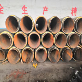 佳木斯 鑫龙日升 硬质泡沫保温钢管DN800/820螺旋聚氨酯保温管